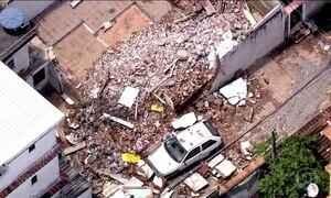 Temporal deixa quatro mortos no Rio