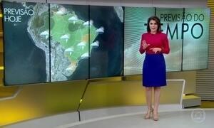 Veja a previsão do tempo para esta quinta-feira (15) em todo o Brasil