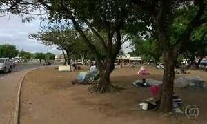 Refugiados venezuelanos vivem situação caótica em Roraima