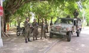 Rio amanhece com mais segurança nas ruas devido visita de Michel Temer