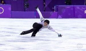 Atleta japonês conquista o bicampeonato olímpico na patinação artística