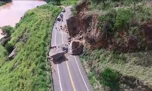 Rodovia federal interditada no Espírito Santo causa transtornos e acidentes