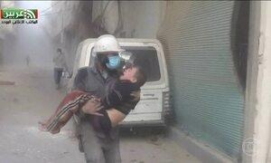 296 pessoas morreram em bombardeios na Síria nos últimos quatro dias