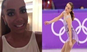 Isadora Williams põe o Brasil pela primeira vez na final da patinação artística olímpica