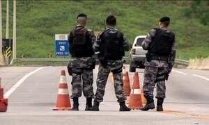 Governo do Espírito Santo reforça policiamento na divisa com o Rio de Janeiro