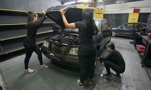 Mãe e filha abrem autopeças apenas com funcionárias mulheres