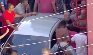 Veja no JN: Militantes impedem saída de Lula do Sindicato dos Metalúrgicos