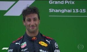 Daniel Ricciardo vence o GP da China de Fórmula 1