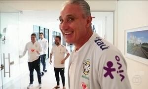 Seleção Brasileira treina em Teresópolis para a Copa da Rússia