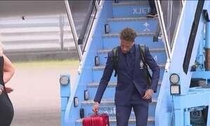 Seleção Brasileira chega a Londres para período de treinos antes da Copa da Rússia