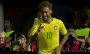 Brasil vence Áustria com vitória tranquila
