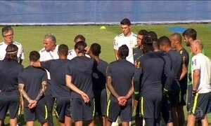 Seleção brasileira tem quatro jogadores machucados