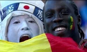 Japão e Senegal empatam e terminam rodada na liderança do grupo H