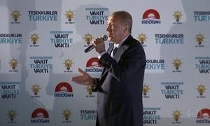 Erdogan é reeleito para mandato de cinco anos