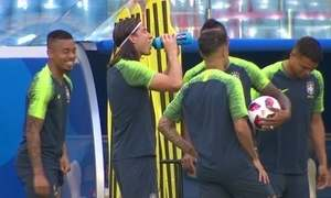 Seleção se prepara para enfrentar o México pelas oitavas de final