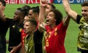 Após 32 anos, seleção belga fica entre as quatro primeiras