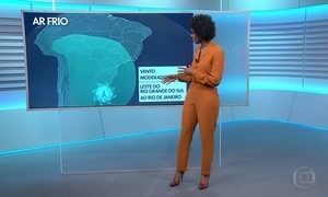 Veja a previsão do tempo para terça-feira (10)