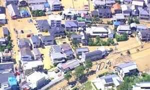 Número de mortos em enchentes no Japão chega a 155