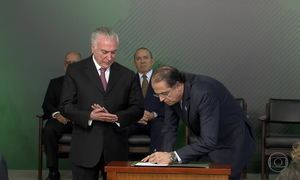 Novo ministro do Trabalho toma posse em Brasília