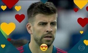 Gerard Piqué é o Gato da Copa 2018; Bolão do Fantástico acaba em empate