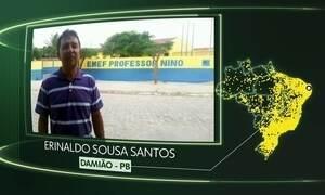 Vídeos de Damião, São José do Sul, Nova Crixás, Juquitiba, Assunção do Piauí, Arinos e Santarém Novo
