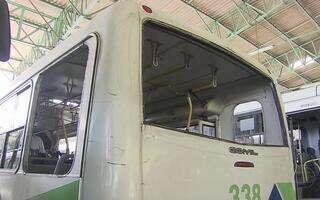 Recife teve 612 ônibus depredados  (Luna Markman / G1)