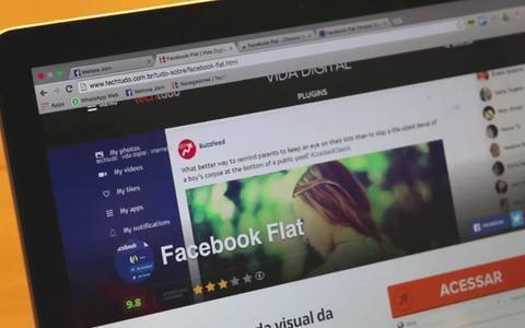 Facebook Flat promete revelar quem viu o seu perfil