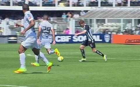 Na despedida de Gabigol, Santos perde por 1 a 0  para o Figueirense na Vila