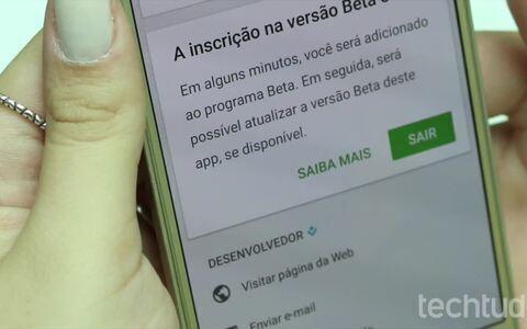 Como baixar a versão beta e o APK do WhatsApp no Android