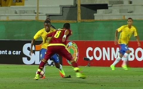 Brasil vence Venezuela por  1 a 0 no Sul-Americano sub-17