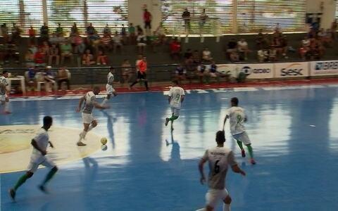 Ceilândia goleia o Sobradinho na Copa Brasília de Futsal