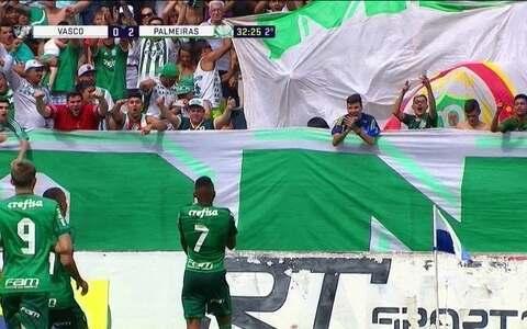 Palmeiras faz 2 a 0 no Vasco e garante classificação para as quartas na Copinha
