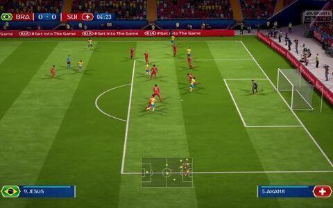 Simulação da Copa - Brasil X Suíca
