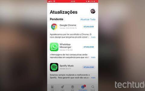 Como atualizar o WhatsApp no iPhone