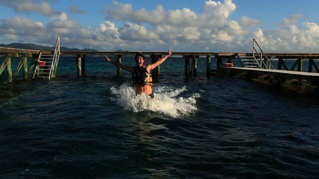 T10.EP05 - Bruno De Luca visita um aquário de golfinhos no Caribe