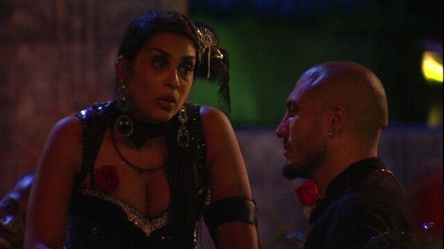 A reaproximação de Fernando e Amanda