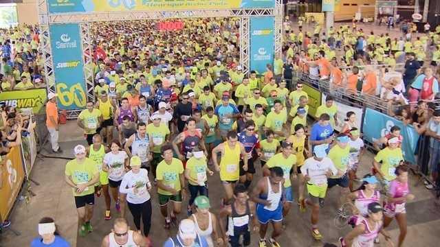 Mais de 2 mil pessoas participam da 60ª  Corrida Pedestre Henrique Archer Pinto