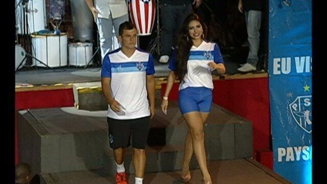 Em noite de gala, Paysandu  lança marca e novos uniformes