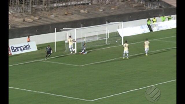 veja o gol da vitória do São  Francisco diante do Remo