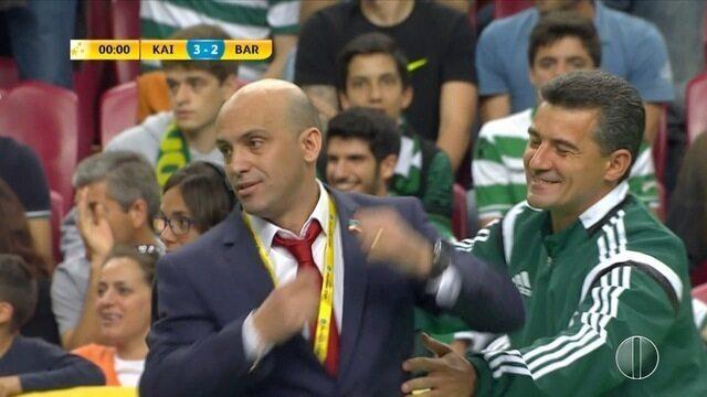 Cacau comenta bom momento como treinador do Cazaquistão