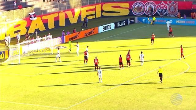 Vitória vence o Corinthians de  virada no Barradão por 3 a 2