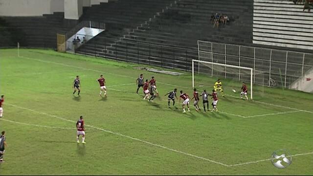 Central e Campinense empatam sem  gols em amistoso no Estádio Lacerdão