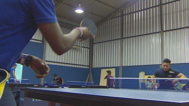 Seleção de tênis de mesa de Cuba treina no Amapá para a Olimpíada no mês de agosto