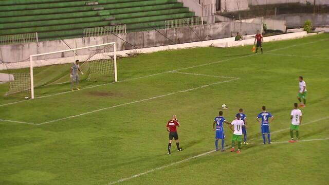Assista aos gols da classificação do Mequinha  para a segunda fase da Série D do Brasileiro