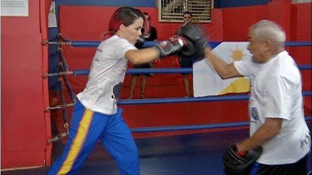 Boxeadora do TO conquista medalha no primeiro campeonato brasileiro da carreira