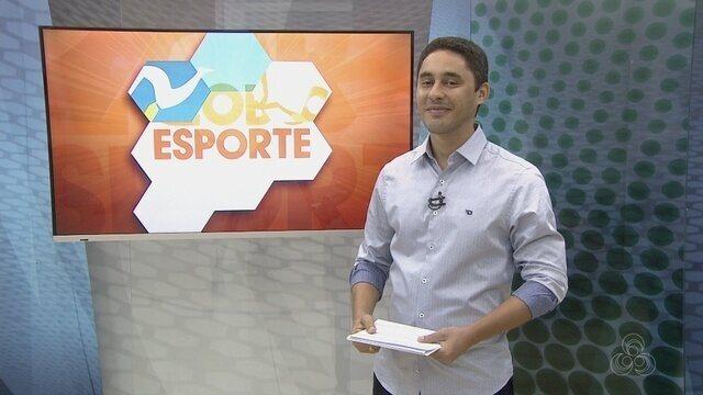 Confira a íntegra do programa Globo Esporte RR - 30/07/2016