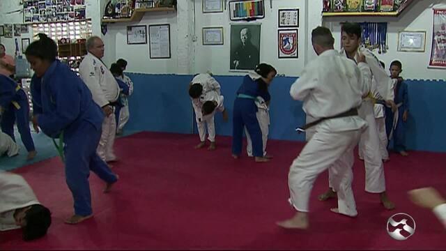 """Atletas do """"Judô Comunitário""""  sonham disputar olimpíadas"""