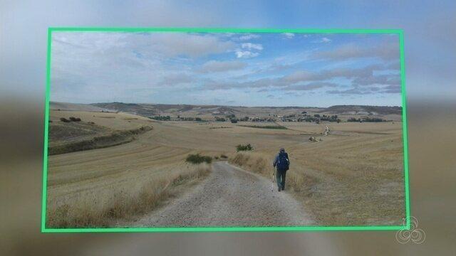 Roraimense encara peregrinação de cerca de 800km