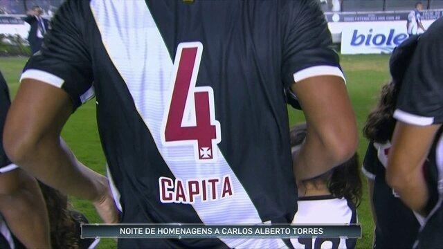 Carlos Alberto Torres é lembrado em jogos pelo Brasil e até na Colômbia