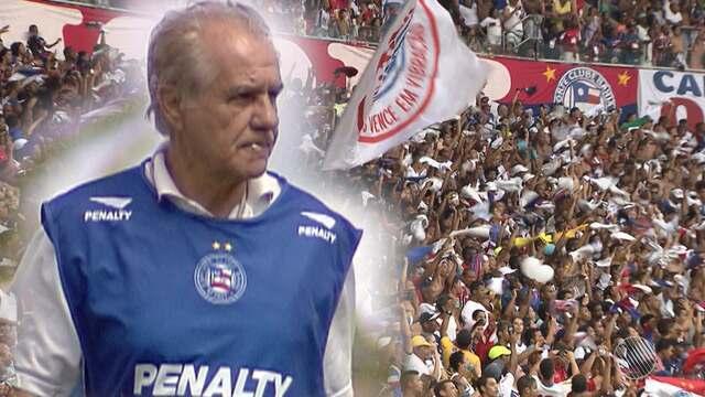 Ex-técnico do Bahia recebe  homenagem na Arena Fonte Nova